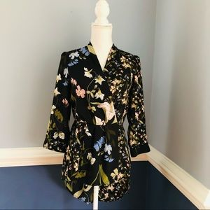 New York Company high-low floral top